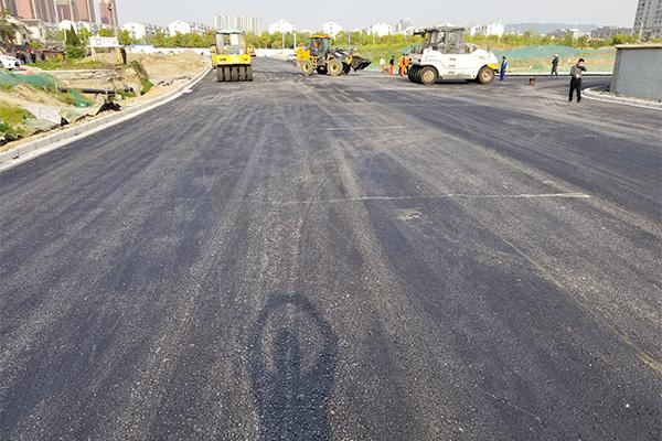 市政沥青道路施工