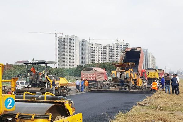 道路沥青路面施工